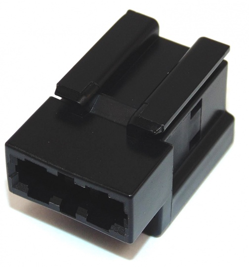2 Way Delphi TL 2300 Fuse Holder Black